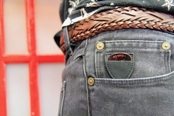 Jeans April 77 gris