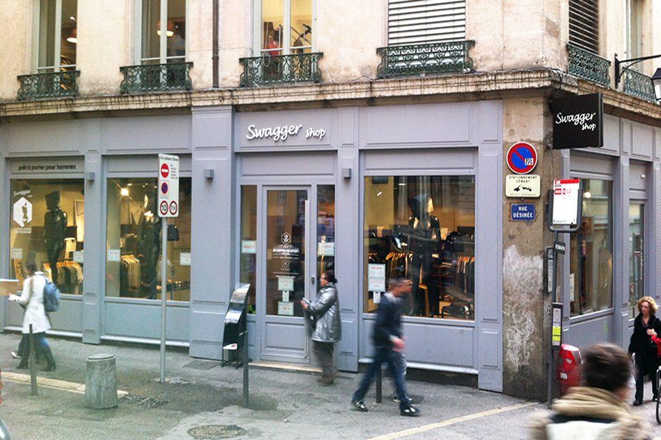 Swagger shop extérieur