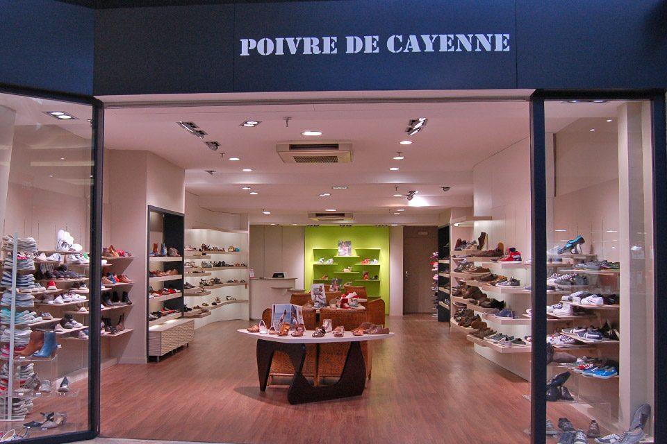 Poivre de Cayenne Rennes Vitrine