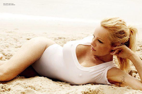 Pamela Anderson Vogue Bresil