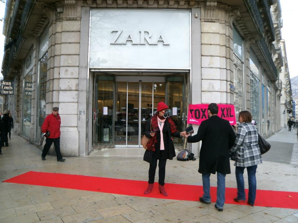 Zara Vitrine Grenoble