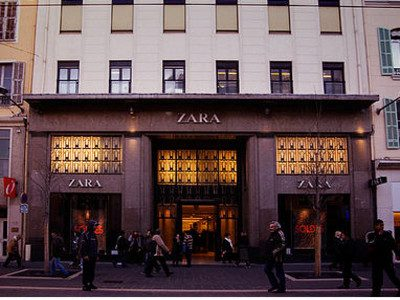 Zara Vitrine Nice