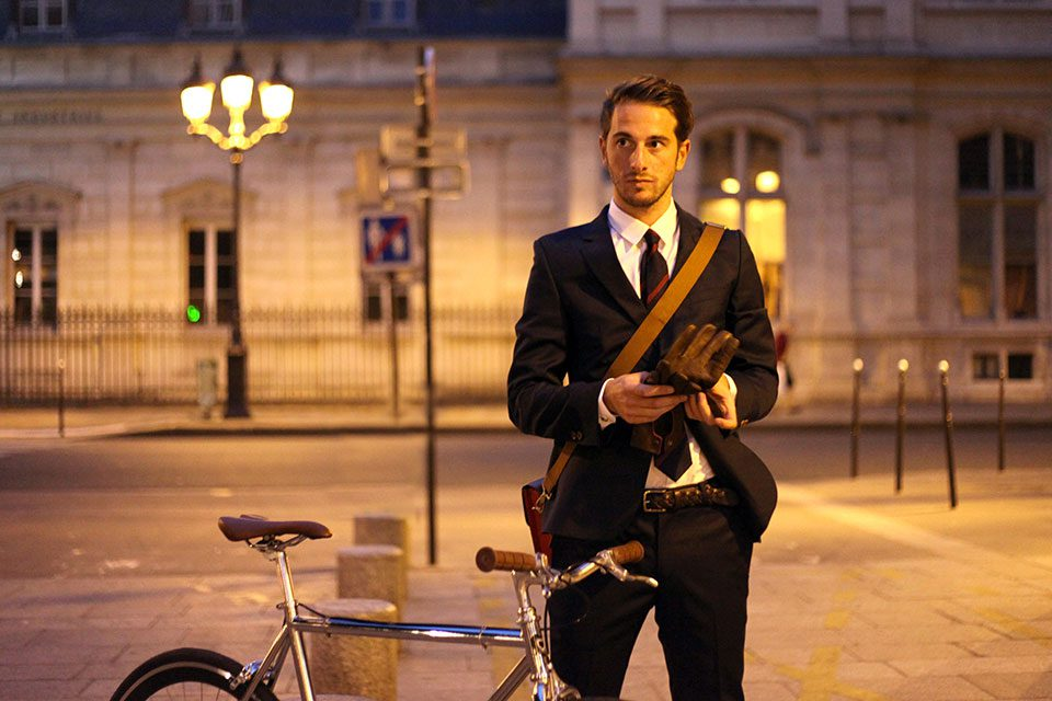 Tony vélo chic portrait
