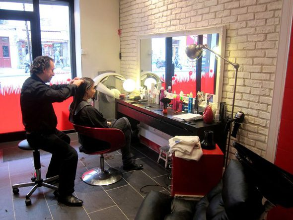 Le garçon coiffeur