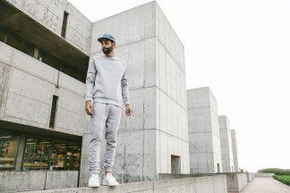 jogger pants grey