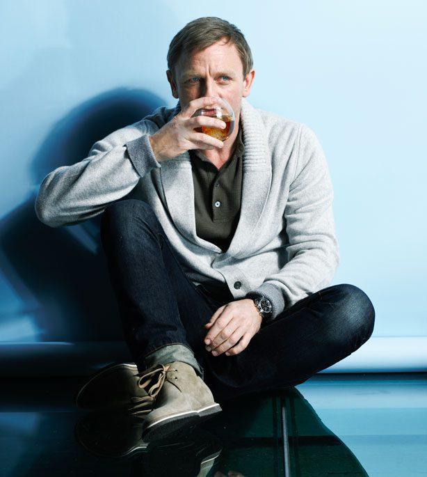 Daniel Craig en Desert boots
