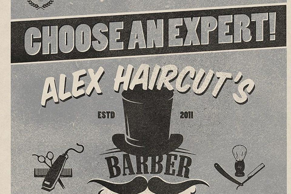 Alex haircut's Paris
