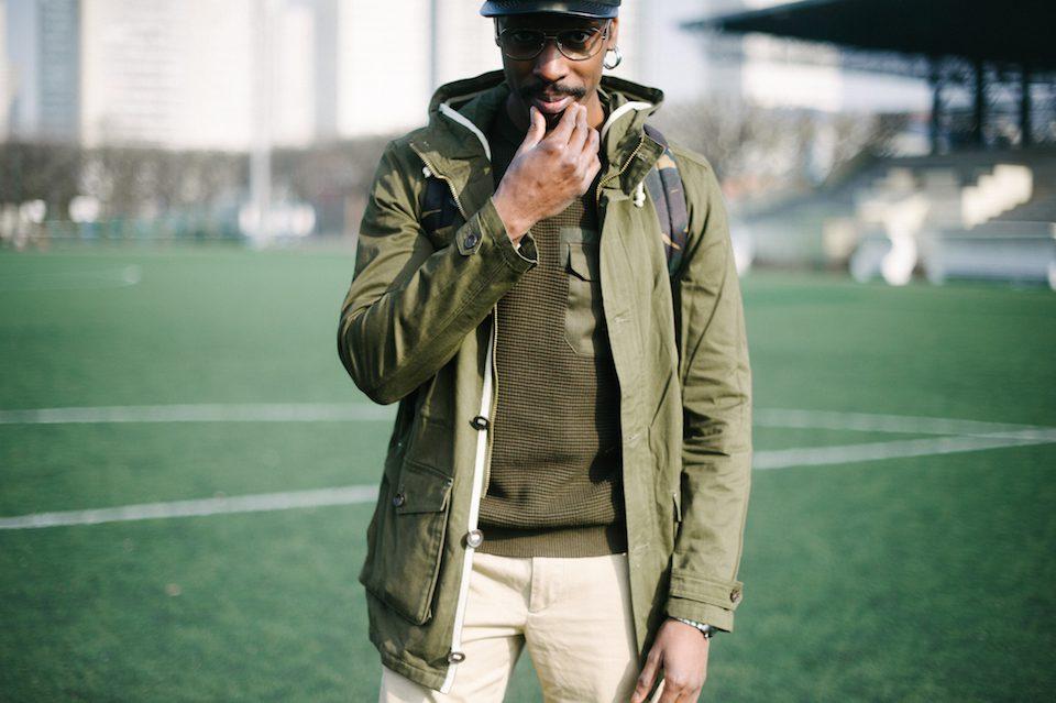 look homme streetwear urbain