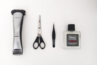 Outils taille barbe