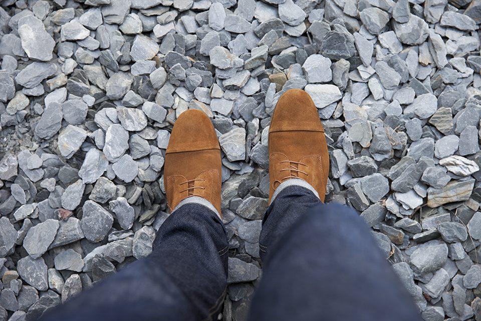 Boots Fleches de Phebus Thom essayage