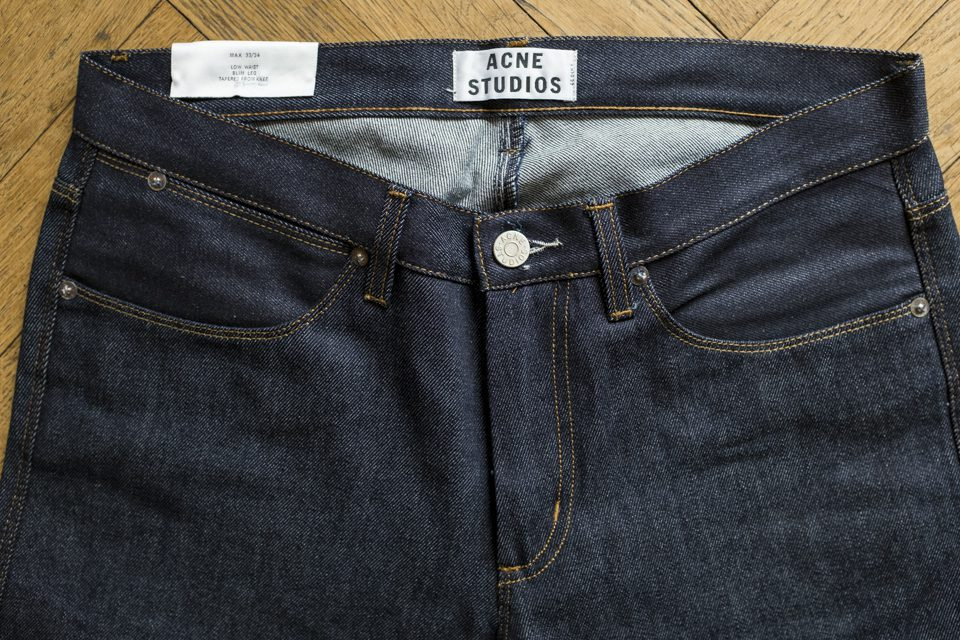 Acne max raw jeans