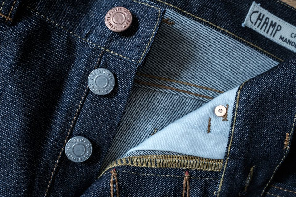 boutonniere jeans made in france