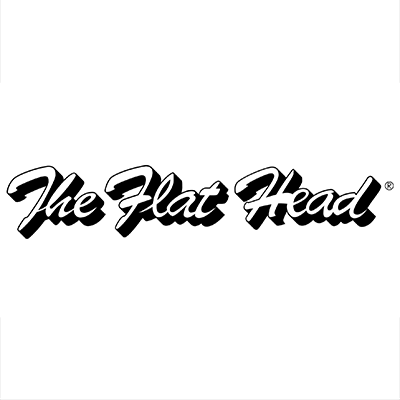 the flat head logo