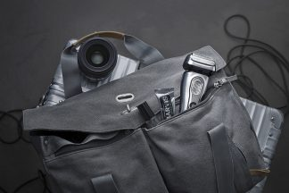 Series 9 in bag with accessories