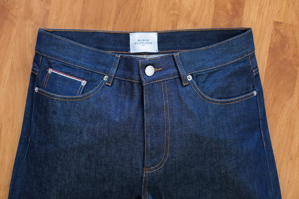 jeans selvedge maison standards avis