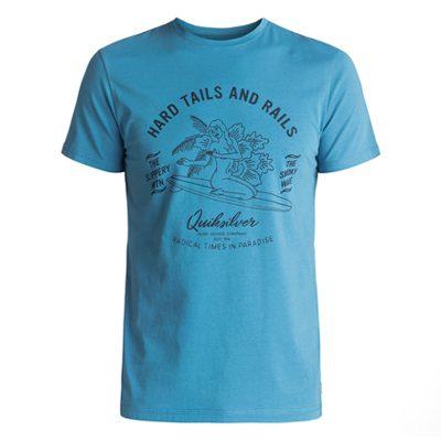 t-shirt quiksilver garment dye