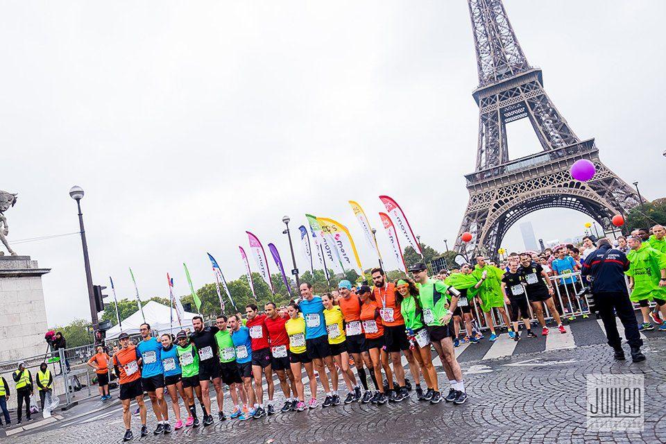 20 km de Paris Arrivée