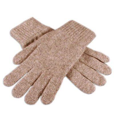 gants cachemire made in Scotland