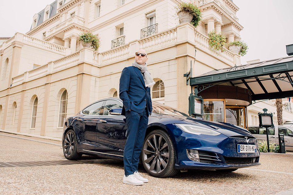 Tesla Model S Look Plein pied