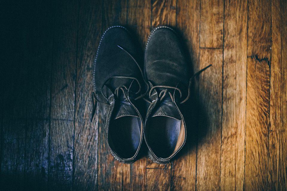Chaussures Nubuck Abimees