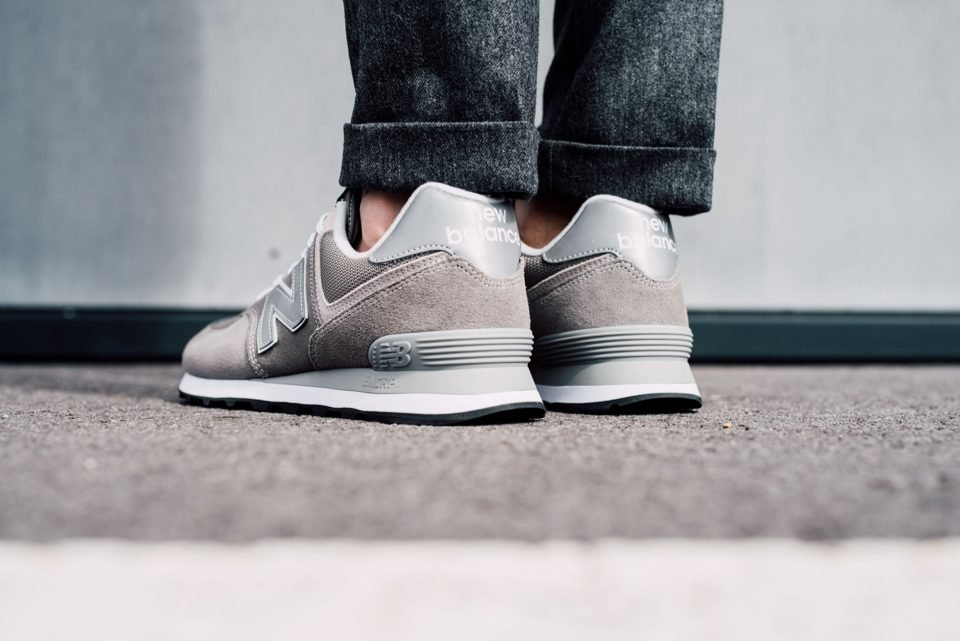 New Balance 574 Classic look profil arriere