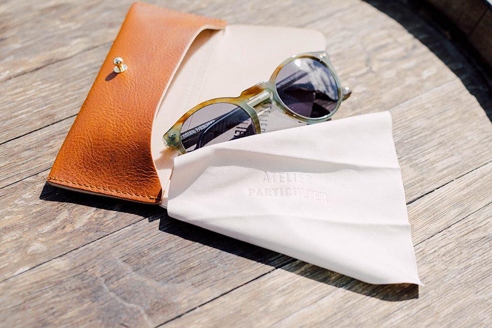 Atelier particulier lunettes kaki marbre