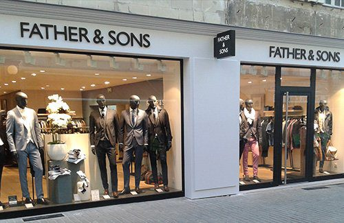 Boutique father sons