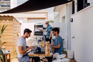Terrasse barbecue convivialité