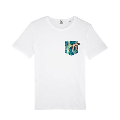T-shirt Pique & Pocket poche Jungle
