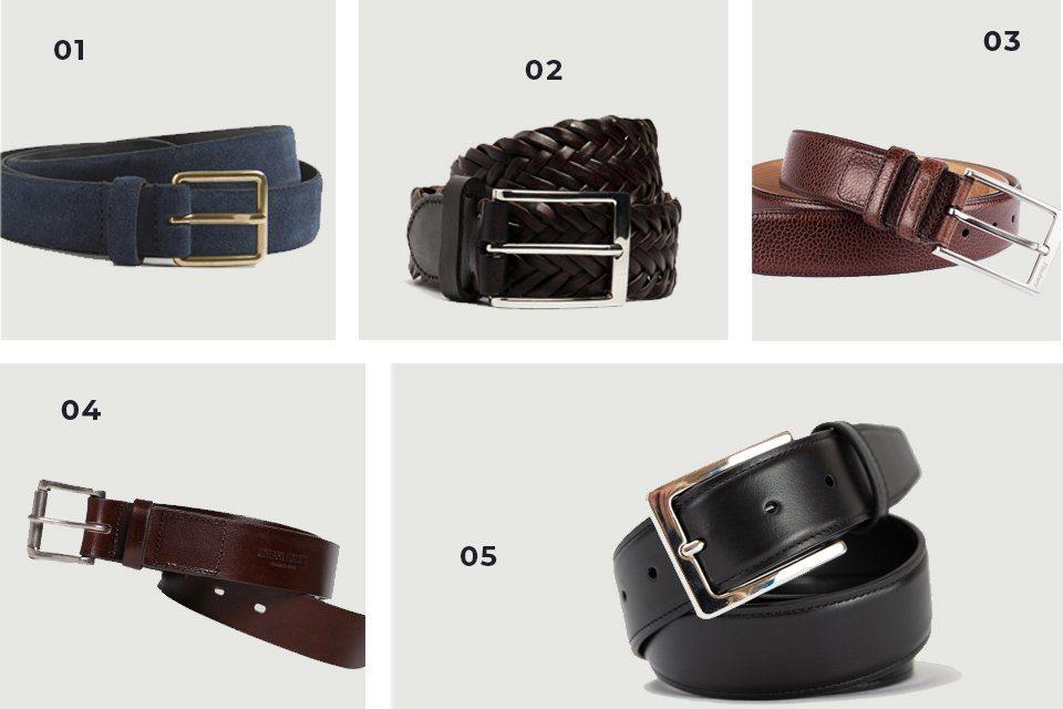 selection soldes ceintures cuir SS21