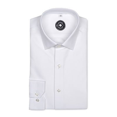 chemise oxford blanche première manche