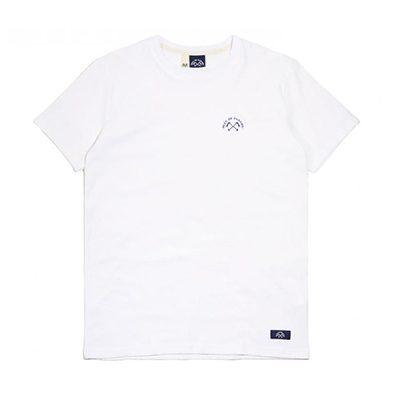 t-shirt blanc bleu de paname