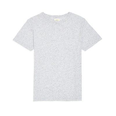 t-shirt gris moucheté Bellerose