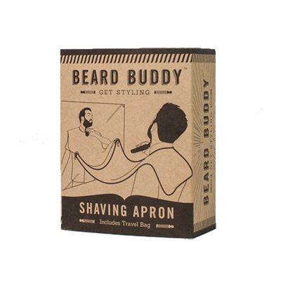 tablier pour se raser la barbe beard buddy