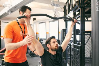 exercice musculation dos position