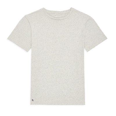 t-shirt bellerose ino en jersey de coton moucheté