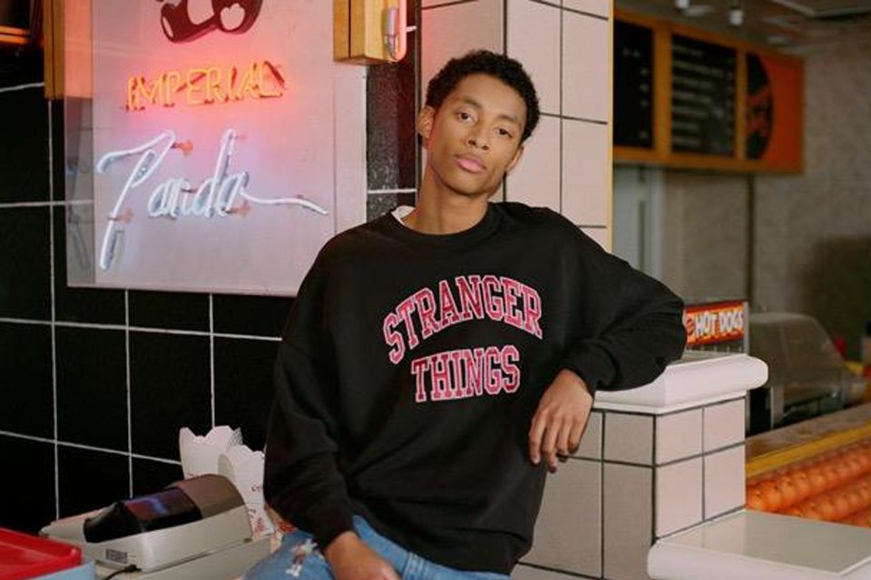 LEVI'S x Stranger Things collab capsule sweat