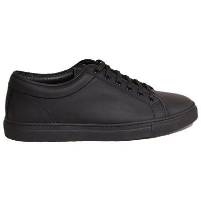 sneakers Low 1 ETQ en cuir noir