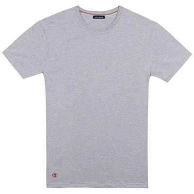 t-shirt made in france gris chine le slip français