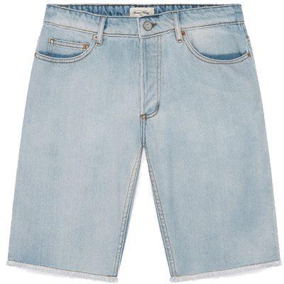 short en jean clair american vintage
