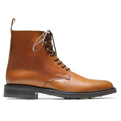 boots huster rudy's marron