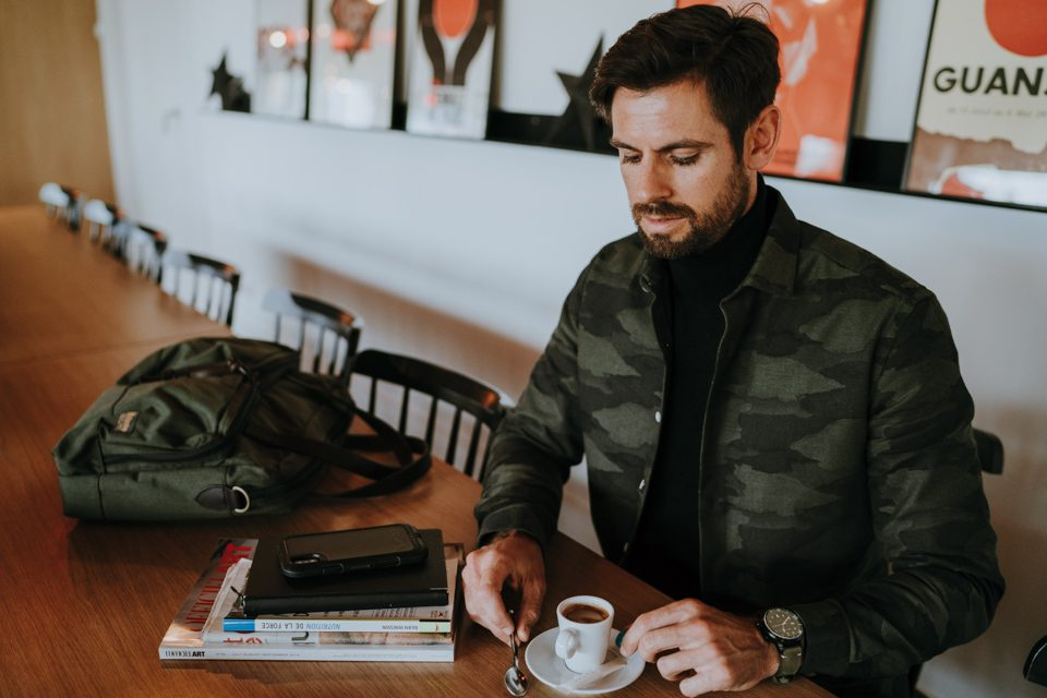 look homme automne 2019 café