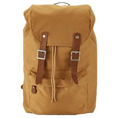sac à dos marron monoprix