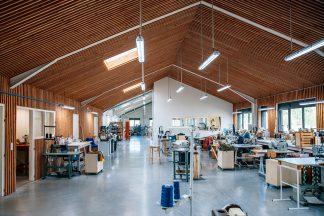 Atelier Bleu de chauffe vue interieur