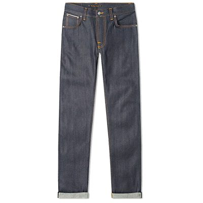 jeans selvedge nudie thin finn