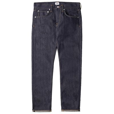 Jean edwin ED-55 regular tapered rainbow selvedge