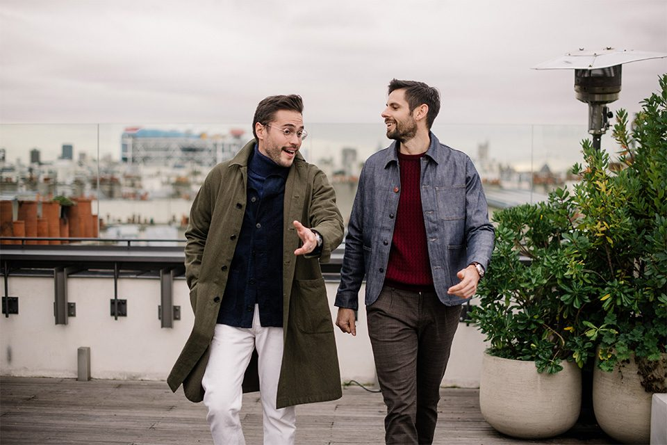look homme luca gallacio x max comme un camion rooftop discussion