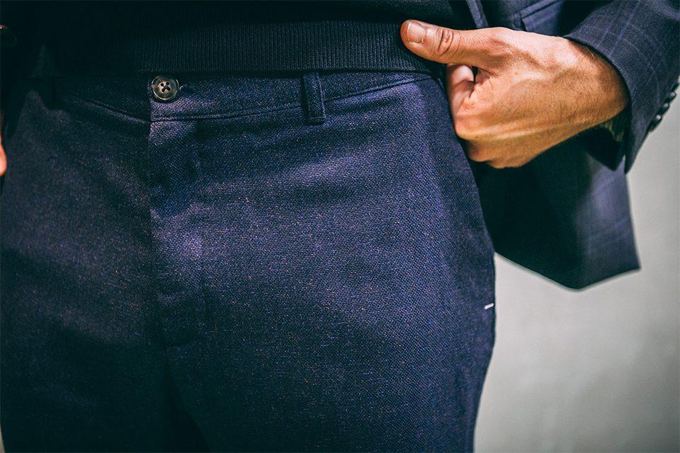 Look thé pantalon flanelle