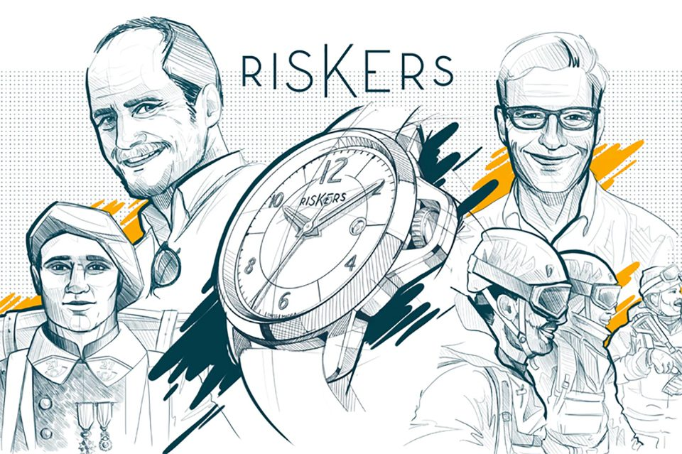 Montre Riskers illustration