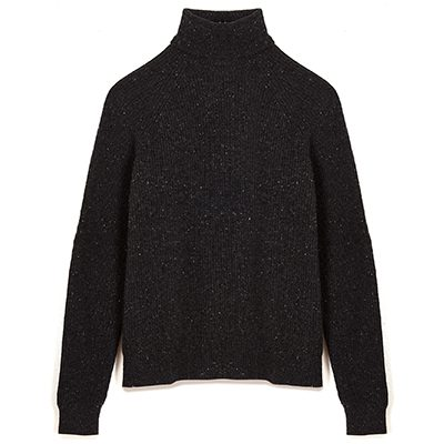 pull col roulé maison standards 100% laine merinos